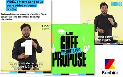 Pierre SANG nous parle séries et bonne bouf