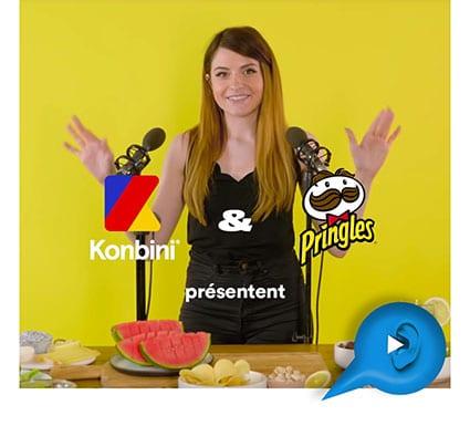 Kali - Les bruits de l'apéro en ASMR - Pringles et Konbini