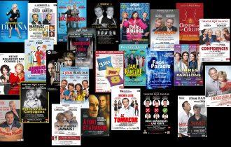 Plus de 20 pièces de théâtre ont été répétées ...