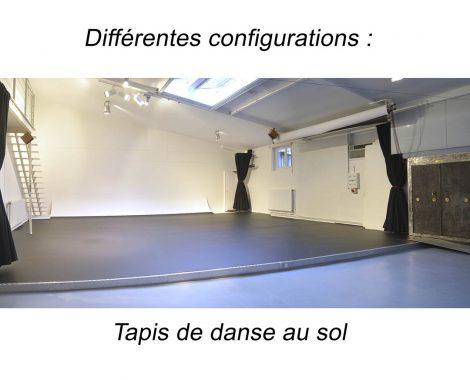 Tapis de danse au sol